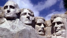 Mount Rushmore - Holiday Edition
