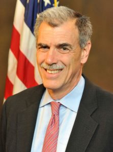 Donald Verrilli, Solicitor General of the United States. Who didn't challenge the plaintiff's standing to sue.