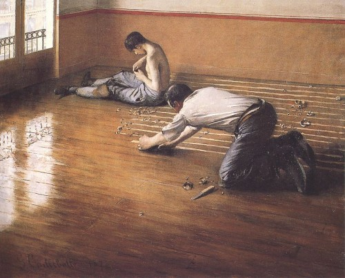 Painting by Gustave Caillebotte