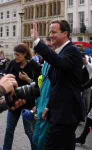 David Cameron, evidently the Man of the People