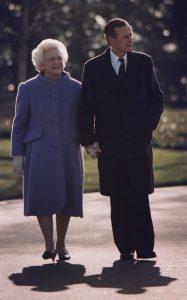 George H Bush & Barbara