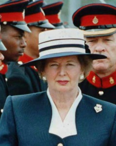 Margaret Thatcher relied on a split opposition.