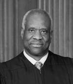 Justice Clarence Thomas. Official U.S. Supreme Court photograph, no copyright on U.S. Government photography.