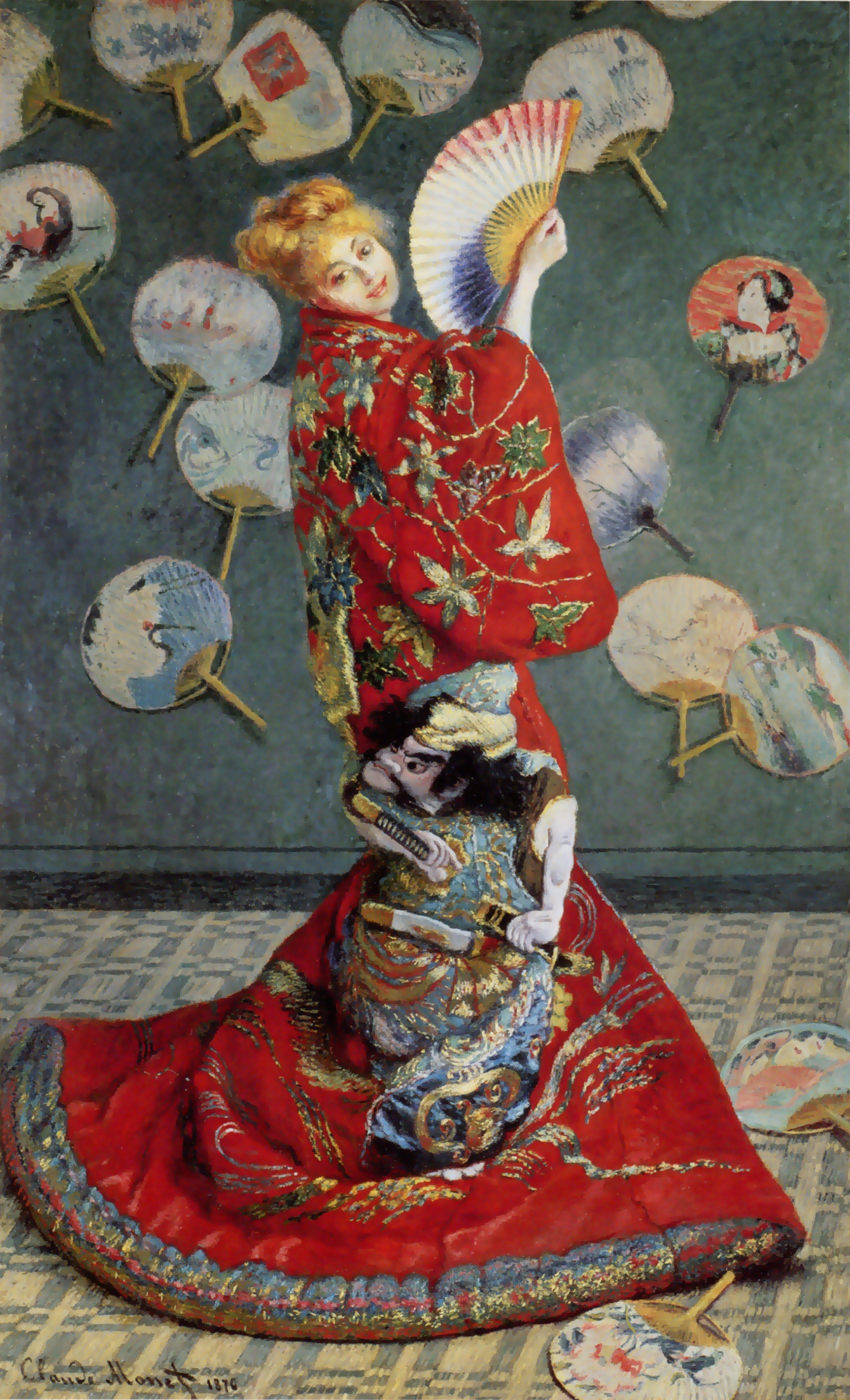 La Japonaise by Claude Monet - image from Wikipedia