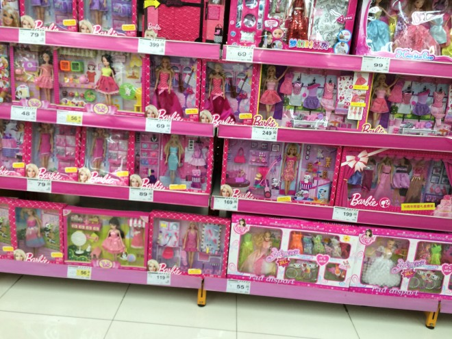 Barbies in China