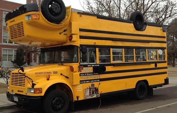 reversible school bus