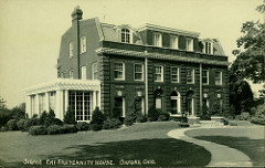 fraternity house photo
