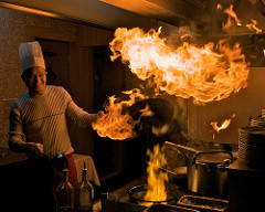 cooking flame photo
