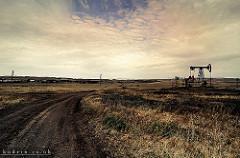 russian oil fields photo
