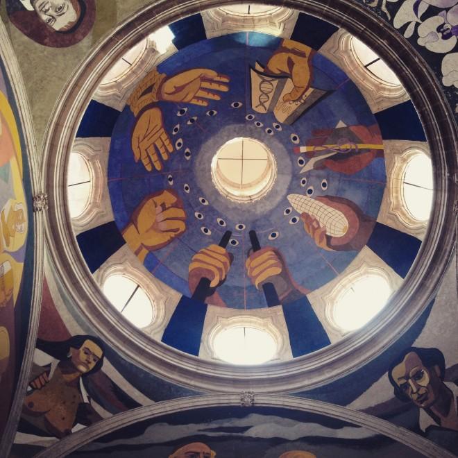Morelia Museum's impressive dome.