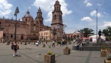 Traveling in Morelia, Michoacán
