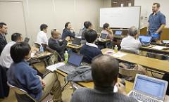 Japanese classroom photo