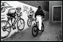 fat man bicycle photo