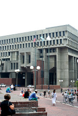 boston city hall photo