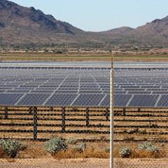 solar farm photo