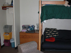 college dorm room photo