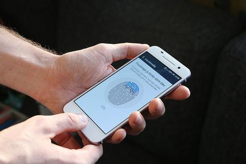 fingerprint reader photo