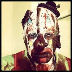 creepy clown photo