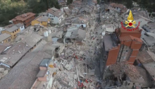 Associated Press: Italy Earthquake Kills Dozens, Reduces Towns to Rubble