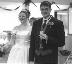 mormon wedding photo