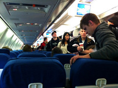 airline seats photo
