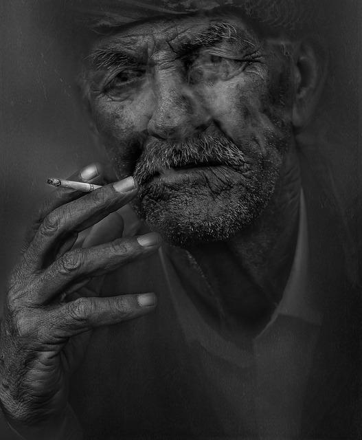 smoking photo