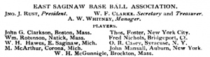 """Practical Base Ball"" -- A Tale of Skullduggery"