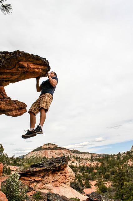 rock climbing photo