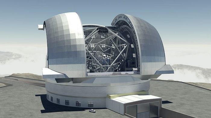 Big telescope picture