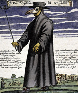 plague doctor drawing photo