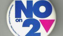 Image of amendment 2 button.