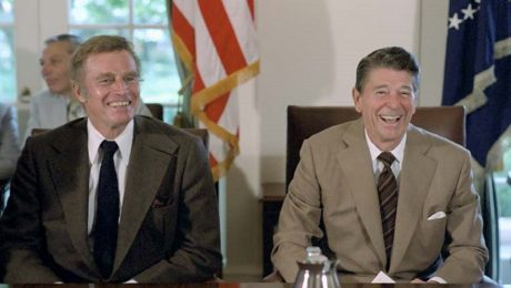 """Let's Dispel the Myth That Trumpism Is Destroying """"Reagan's GOP"""""""