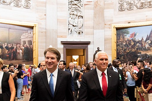 The Kavanaugh Dog and Pony Show Commenceth