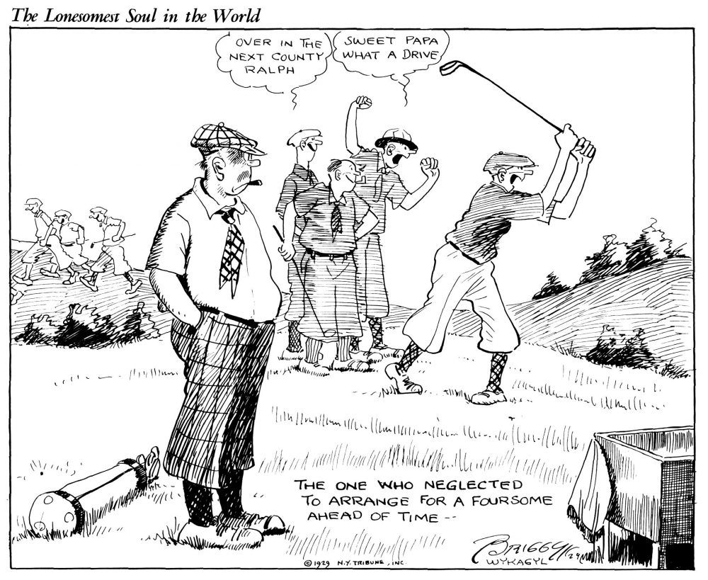 Golf: The Lonesomest Soul in the World