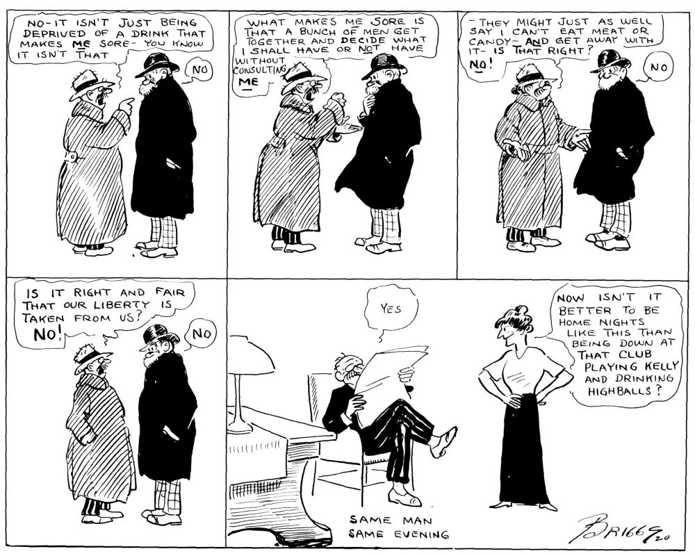 Oh, Man! Prohibition