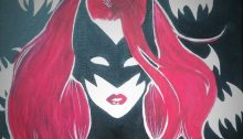Batwoman in Red