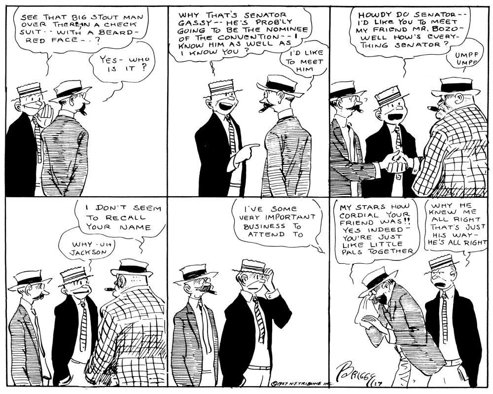 That Guiltiest Feeling: The Senator & Me