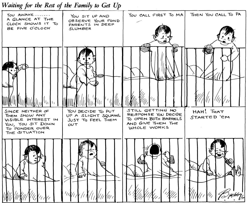Tedious Passtimes: Waiting For The Rest of the Family To Get Up