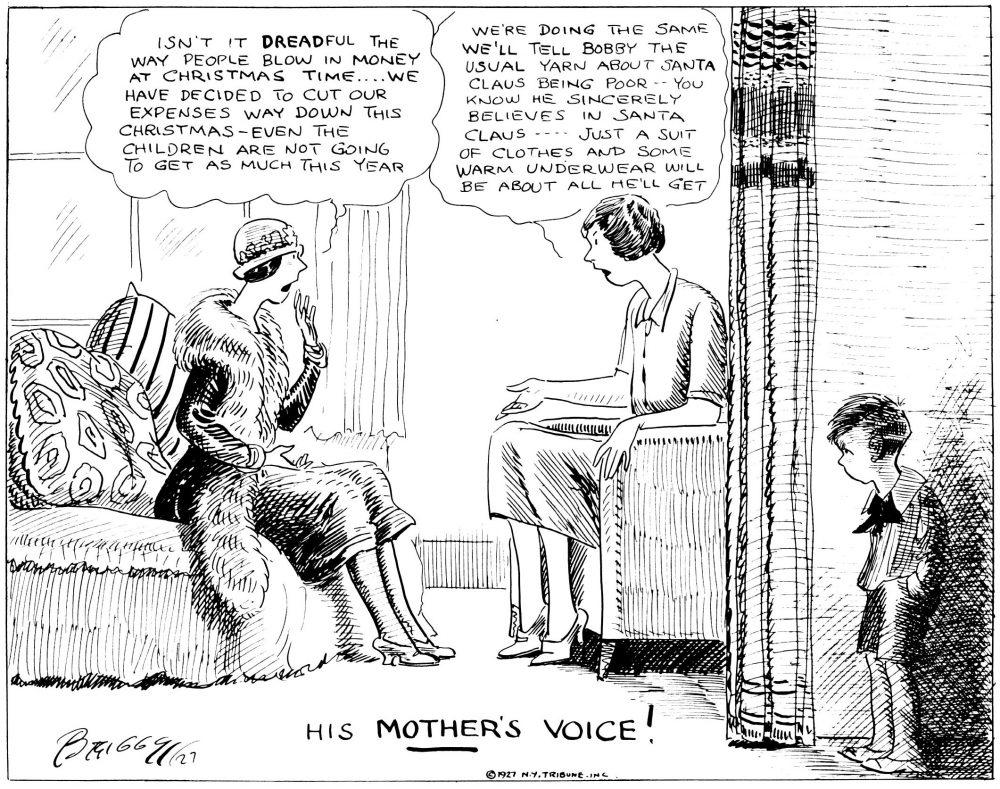 When A Feller Needs A Friend: His Mother's Voice!