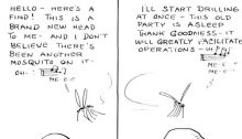 Wonder What a Mosquito Thinks About