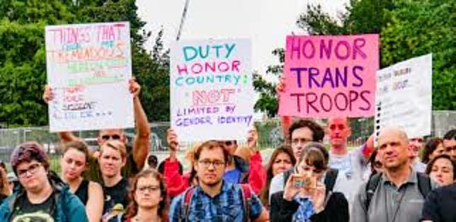 Trump's Transgender Military Ban Remains- For Now