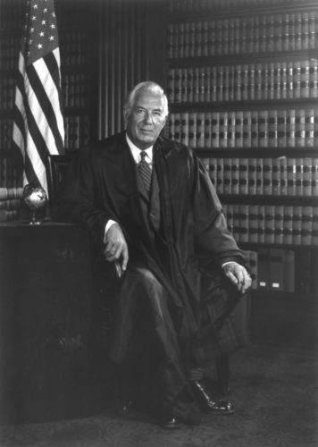 Chief Justice Warren Burger, 1971