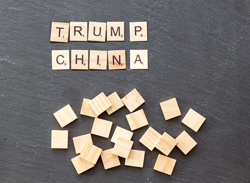 Trump China photo