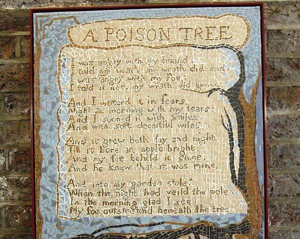 A Poison Tree, Blake Project Mosaic, Centaur Street