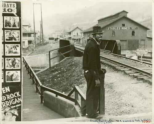 Ben Shahn railroad photo