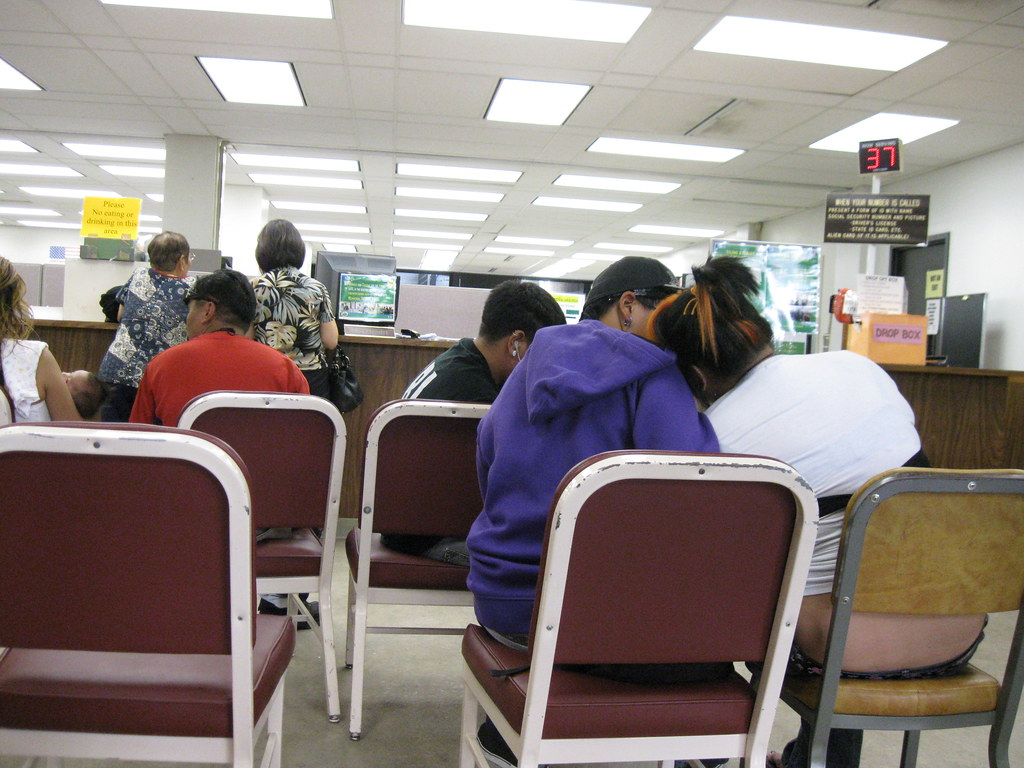 unemployment office photo