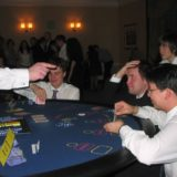 Gamblers at a card table