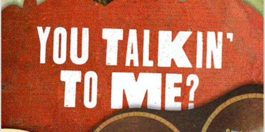 """""""You Talkin' To Me?"""" E.J. White"""