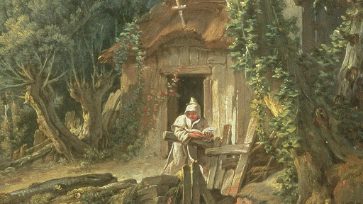 The Hermit in the Garden by Gordon Campbell