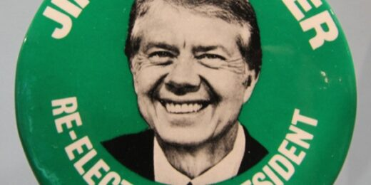 Jimmy Carter button